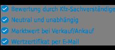 Auto Pkw Anhaenger Wert ermitteln